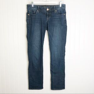 Express Jeans 2 straight leg jeans